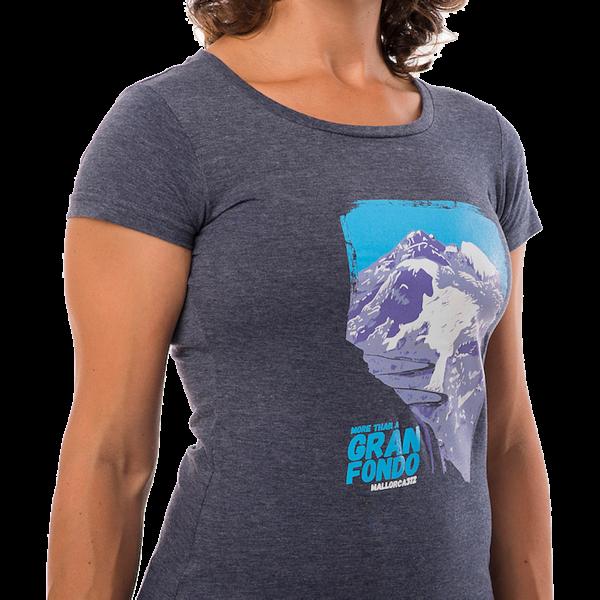 camiseta muntanya mujer